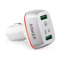 Автомобильное зарядное устройство Anker PowerDrive+ 2 Quick Charge 3.0 A2224