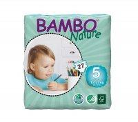 Подгузники Bambo Nature Junior 12-22 кг (27 шт)