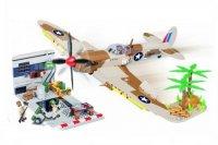 Конструктор COBI Самолет Supermarine Spitfire Desert Airstrip