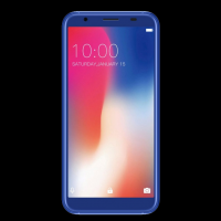 Смартфон Doogee Doogee X55 Blue, 5.5'' 18:9 1280x640, 1.3GHz, 1GB RAM, 16GB, up to 128GB flash, 8Mpix/5Mpix, 2 Sim, 2G, 3G, BT, Wi-Fi, GPS, Micro-USB,