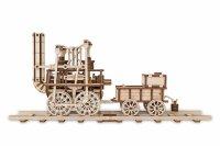 Деревянный конструктор 3D Locomotion #1 (локомотив #1)