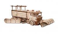 Деревянный конструктор 3D Snowtruck (Снегоуборочная машина)