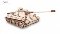 Деревянный конструктор 3D Tank Löwe (Танк Лев)