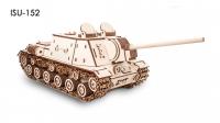 Деревянный конструктор 3D Tank ISU152 (Танк ИСУ-152)