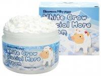 Осветляющий крем для лица Elizavecca Белая ворона White Crow Glacial More Cream 100мл