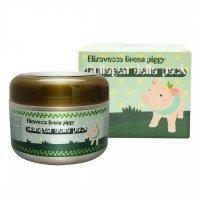 Высококонцентрированная желейная лифтинг маска Elizavecca для лица с коллагеном Green Piggy Collagen Jella Pack 100мл