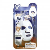 Активная тканевая маска Elizavecca для лица с эпидермальным фактором роста EGF Deep Power Ringer Mask Pack 23мл