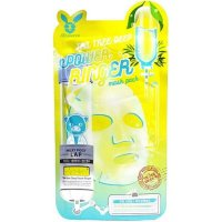 Успокаивающая тканевая маска Elizavecca для лица с экстрактом чайного дерева Tea Tree Deep Power Ringer Mask Pack 23мл