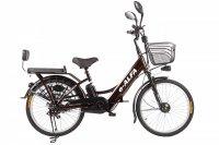Электровелосипед Eltreco e-ALFA (Чёрный)