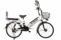 Электровелосипед Eltreco e-ALFA GL (Серый)