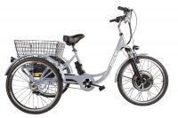 Трицикл CROLAN 500W (Серебрянный)