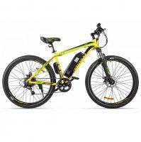 Электровелосипед Eltreco XT 600 (Желто-черный)