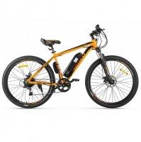 Электровелосипед Eltreco XT 600 (Оранжево-черный)