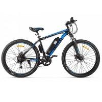 Электровелосипед Eltreco XT 600 (Черно-синий)