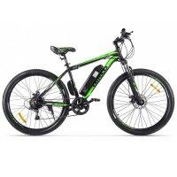 Электровелосипед Eltreco XT 600 (Черно-зеленый)