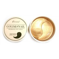 Патчи для глаз Esthetic House Золото и улитка Gold & Snail Hydrogel Eye Patch 60шт