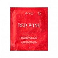 Маска для лица гидрогелевая Esthetic House КРАСНОЕ ВИНО Red Wine Regenerating Solution Hydrogel Mask Pack, 1 шт