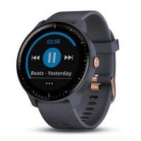 Часы Garmin Vivoactive 3 music синий гранит