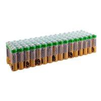 Алкалиновые батарейки GP АA (LR6) Super Alkaline, в комплекте 80 шт (15A-2CRVS80)