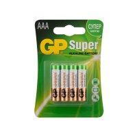 Набор алкалиновых батареек GP типоразмера ААА (LR03), 4 шт (24A-2CR4)