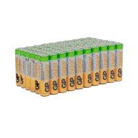 Батарейки алкалиновые GP Super Alkaline ААА (LR03), 60 шт. в комплекте (24A-2CRVS60)