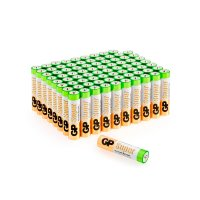 Алкалиновые батарейки GP Super Alkaline ААА (LR03), в комплекте 80 шт (24A-2CRVS80)