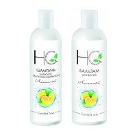 """Набор для жирных волос """"Лимонный"""" шампунь 250 мл+бальзам 250 мл, Halal' Cosmetics"""
