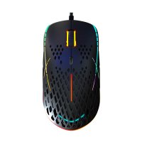 Игровая мышь HIPER Aero A-2 Black USB (6200/12400DPI, 8 кнопок, USB кабель 1.8м, Черный)