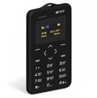 Мобильный телефон HIPER sPhone Card BLACK