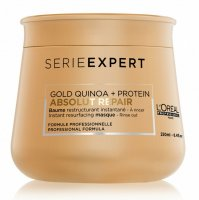 Маска с кремовой текстурой L'Oreal Professionnel Absolut Repair Gold Quinoa + Protein Masque Baume 250ml.