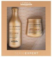 Подарочный набор L'Oreal Absolut Repair Lipidium для восстановления сильно поврежденных волос