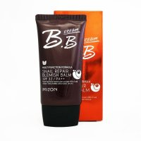 Увлажняющий ББ крем Mizon с 45% экстрактом слизи улитки Snail Repair BB Cream Balm SPF 32 PA+++ #02 Sаnd Beige 50мл