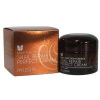 Идеальный крем для лица Mizon с экстрактом слизи улитки Snail Repair Perfect Cream 50мл