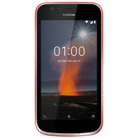 Смартфон Nokia NOKIA 1 DS TA-1047 WARM RED, 4.5'' 854x480, 1.1GHz, 4 Core, 1GB RAM, 8GB, up to 128GB flash, 5Mpix/2Mpix, 2 Sim, 2G, 3G, LTE, BT, Wi-Fi