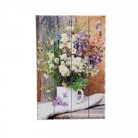 """Картина на досках """"Полевые цветы"""" 60*40см"""