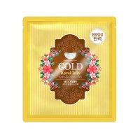 Гидрогелевая маска Petitfee для лица с золотом и маточным молочком Koelf Gold & Royal Jelly Hydrogel Mask 1шт