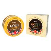 Гидрогелевые патчи Petitfee с золотом и маточным молочком