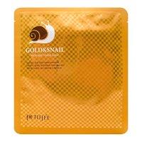 Гидрогелевая маска для лица Petitfee с золотом и экстрактом слизи улитки Gold & Snail Hydrogel Mask Pack 30мл