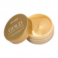 Гидрогелевые патчи Petitfee для глаз с содержанием частиц 24-каратного золота Gold Hydrogel Eye Patch 60шт