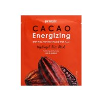 Petitfee Гидрогелевая маска с экстрактом какао бобов Cacao Energizing Hydrogel Face Mask 1штх32мл