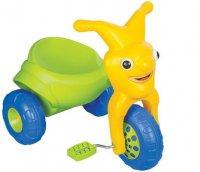 """Трехколесный велосипед Pilsan """"Clown""""  зелено-желтый"""