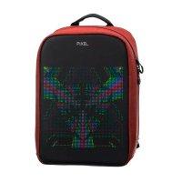 Рюкзак PIXEL MAX Red Line бордовый (LED-экран 25*25 px, 16,5 млн цветов, 20 л., полиэстер)