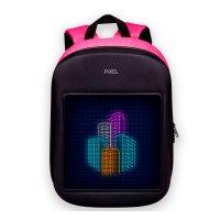 Рюкзак PIXEL One Pinkman чёрно-розовый (LED-экран 25*25 px, 16,5 млн цветов, 20 л., полиэстер)