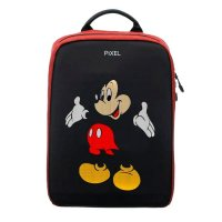 Рюкзак PIXEL PLUS Red Line чёрно-красный (LED-экран 25*25 px, 16,5 млн цветов, 16 л., полиэстер)