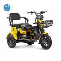 Трицикл Rutrike Бумеранг (Желтый)