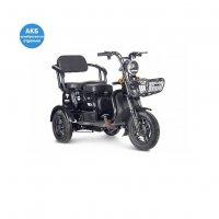 Трицикл Rutrike Бумеранг (Черный)