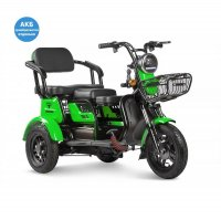 Трицикл Rutrike Бумеранг (Зеленый)