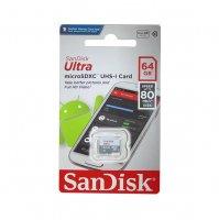 Карта памяти SanDisk Ultra microSDXC 64GB 80MB/s Class 10