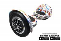 "Гироскутер Smart Balance Wheel 10"" APP Граффити"