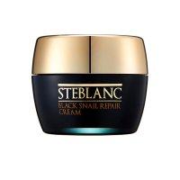 Крем для лица восстанавливающий с муцином Черной улитки Black Snail Repair Cream, Steblanc